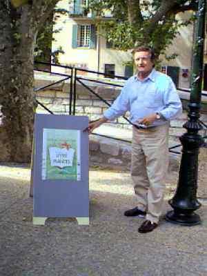 1er salon du livre des plantes de buis juillet 99 - Office tourisme buis les baronnies ...